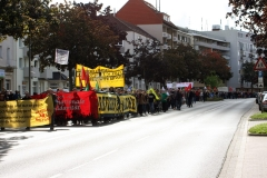 Demonstration: ANSCHLÄGE UND HETZE GEGEN FLÜCHTLINGE STOPPEN! 1