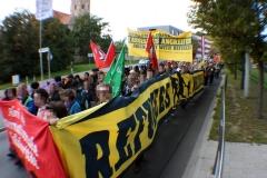 Demonstration: ANSCHLÄGE UND HETZE GEGEN FLÜCHTLINGE STOPPEN! 2