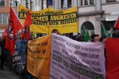 Demonstration: ANSCHLÄGE UND HETZE GEGEN FLÜCHTLINGE STOPPEN! 3