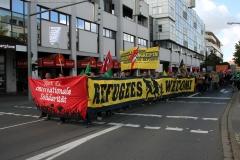 Demonstration: ANSCHLÄGE UND HETZE GEGEN FLÜCHTLINGE STOPPEN! 4