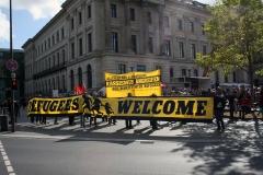 Demonstration: ANSCHLÄGE UND HETZE GEGEN FLÜCHTLINGE STOPPEN! 6